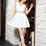 売り切れ続出!元エッグモデルのねもやよさん着用ドレス2。