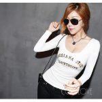 お勧めの韓国オルチャンロングTシャツ。11種類から選べます。